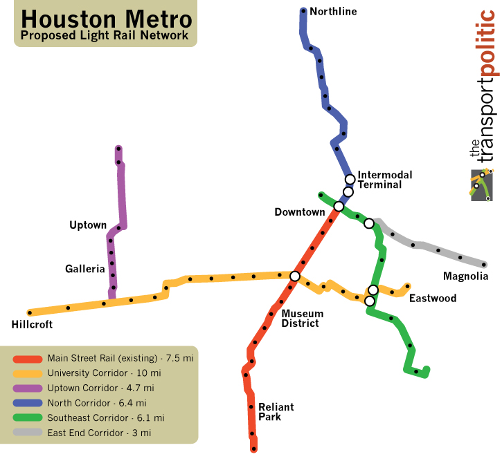 houston metro rail expansion with After Years Of Conflict Houstons Transit System Advances on Train Simulator Route Proposal Rtd likewise San Diego Plans Extension To Its Trolley  work Mostly Skipping Over Inner City further Paris also L1 p5 moreover Cincinnati Light Rail.