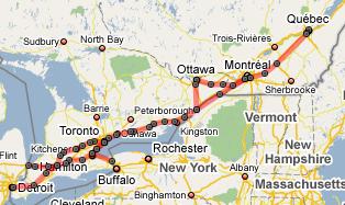 Winsor Québec City High Speed Rail