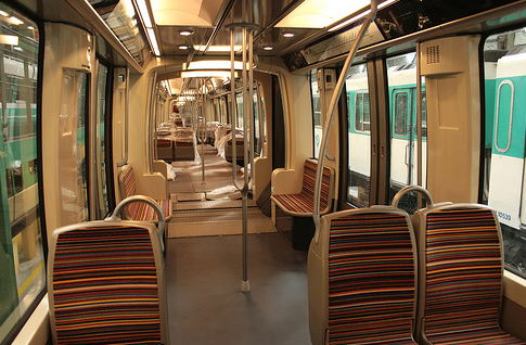 Paris Articulated Train