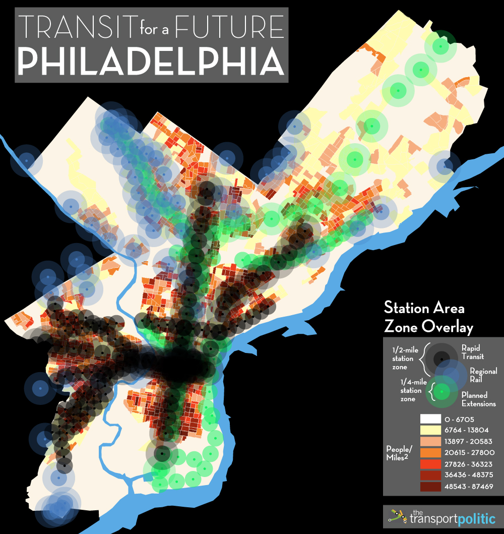 Philadelphia Density Overlay