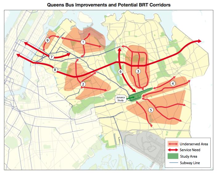 Queens BRT Routes