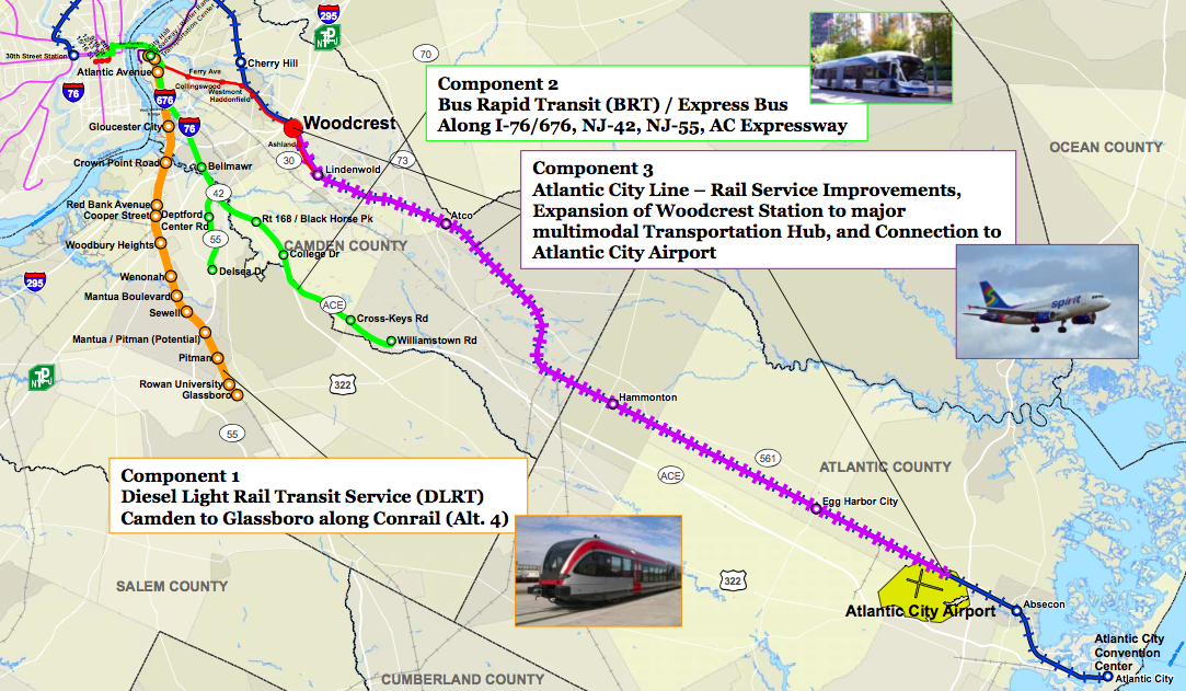 Drpa Announces Significant South Jersey Transit Proposals