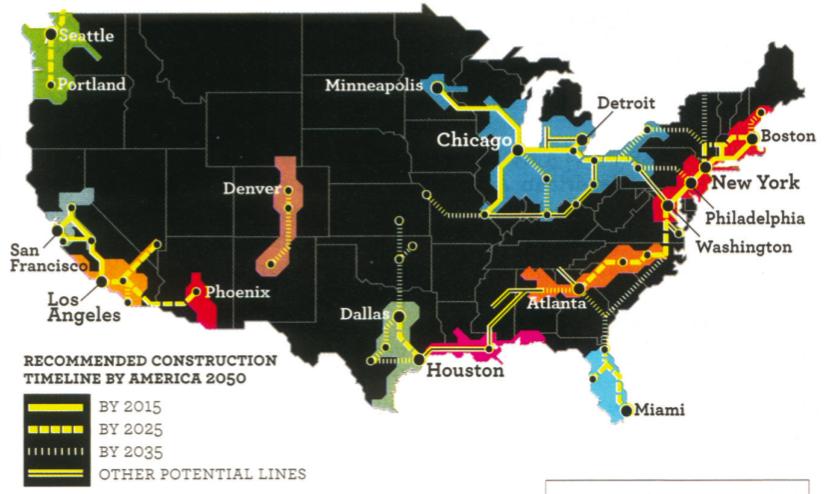 America 2050 Map in Newsweek