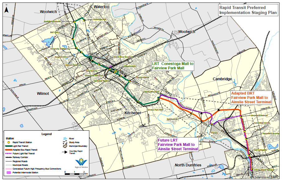 Canada's Waterloo Region Plans for Light Rail by 2014 � The ...