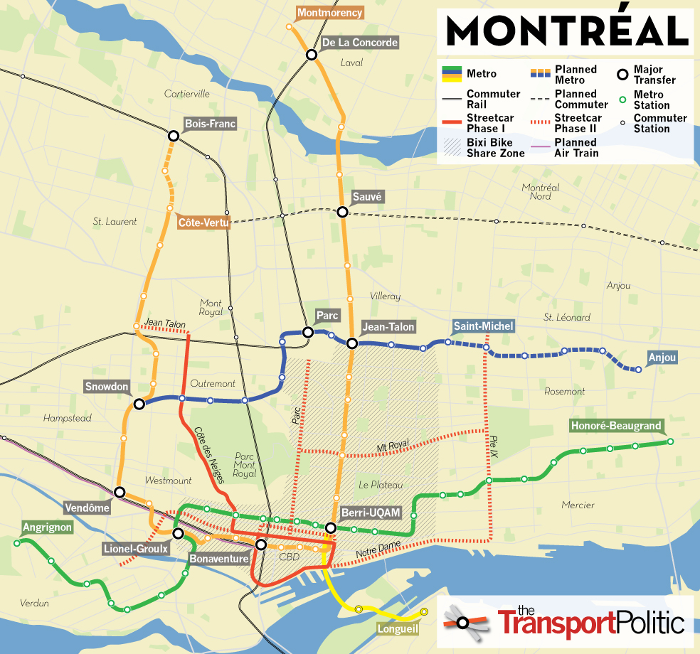 Montr 233 Al Moves Forward With Tramway In Line With Hopes