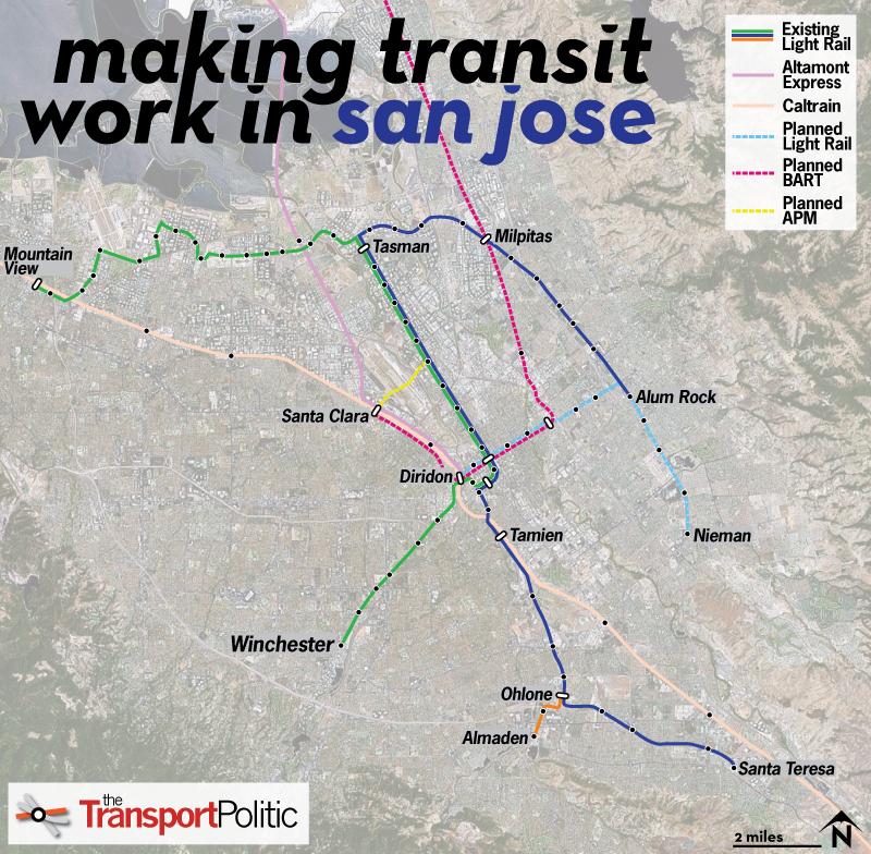 San Jose Plots a Renewal of Its Struggling Light Rail Network