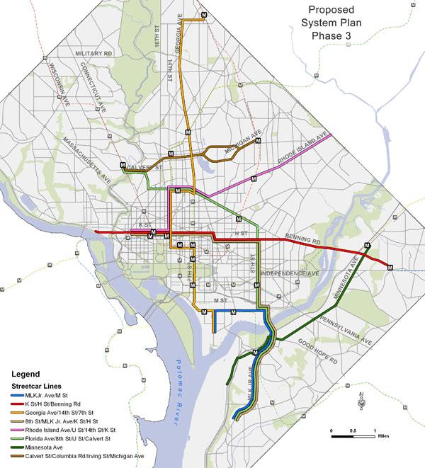 Washington Promotes Massive New Streetcar Project The Transport