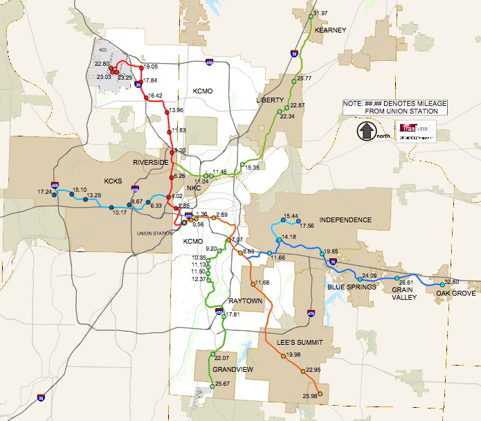 Kansas City Envisions 150Mile Regional Commuter Rail