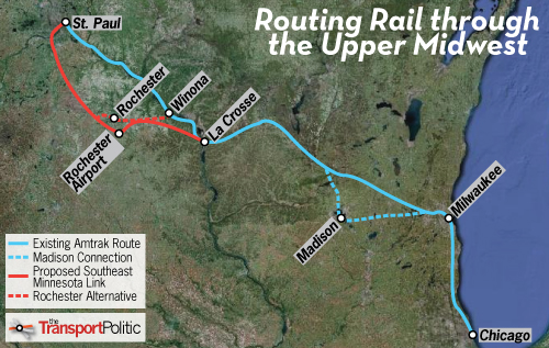 Linking Southeast Minnesota to the Midwest Rail Network