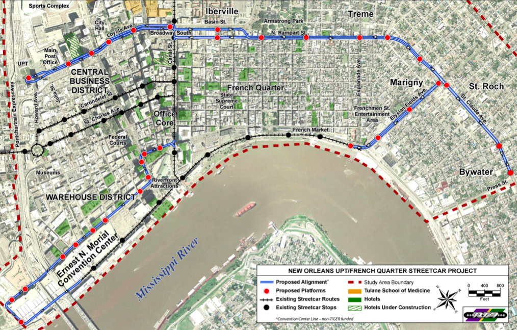 Gallery For Gt New Orleans Bus Map