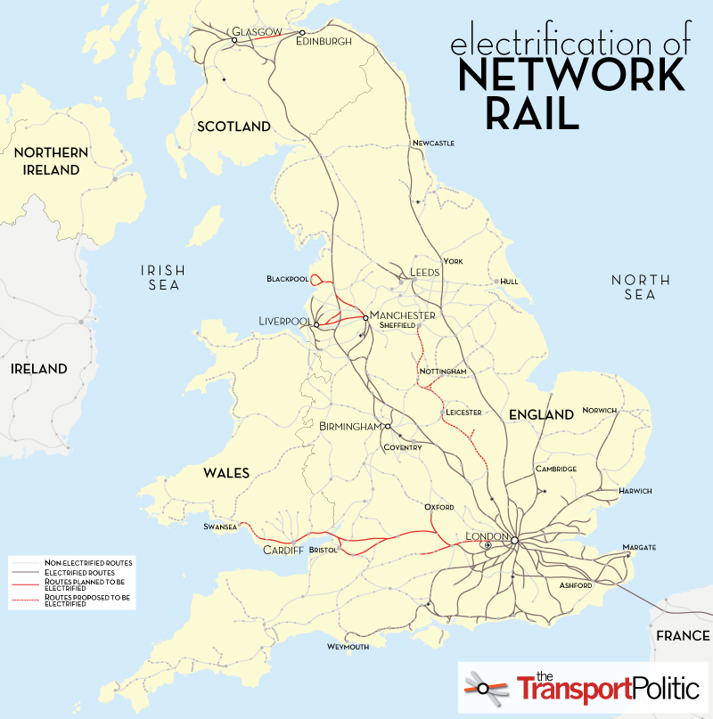 UK Rail Electrification