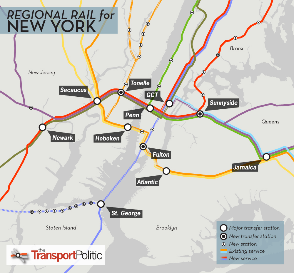 New York Regional Rail A Coda  The Transport Politic