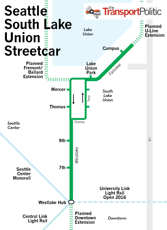 Existing Streetcar Systems  The Transport Politic