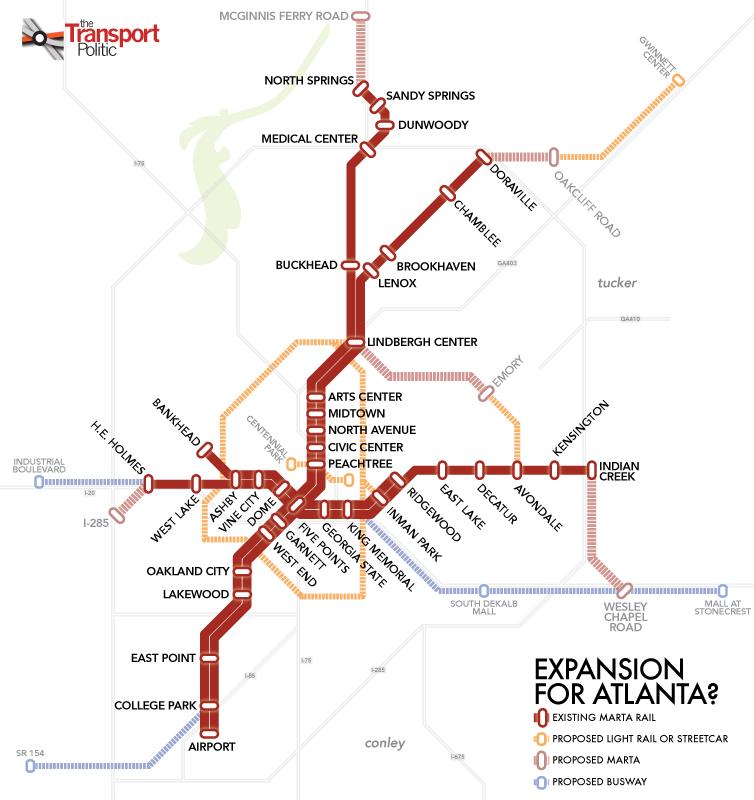 Atlanta Transit Expansion Comes Closer As Region Prepares