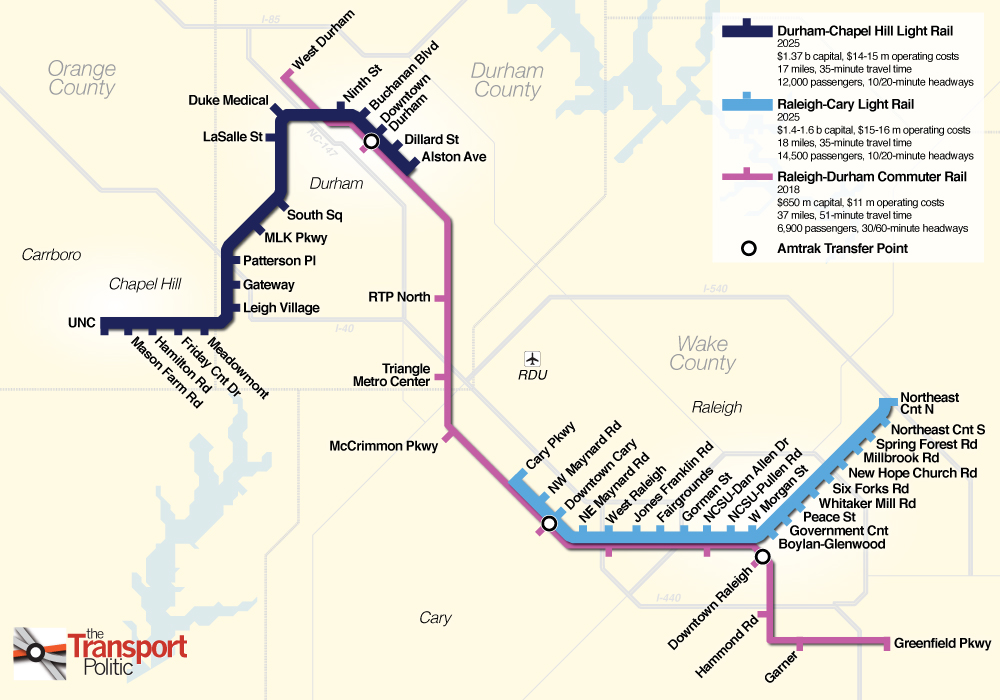 Charlotte Nc Sales Tax >> Light Rail and Streetcars in North Carolina