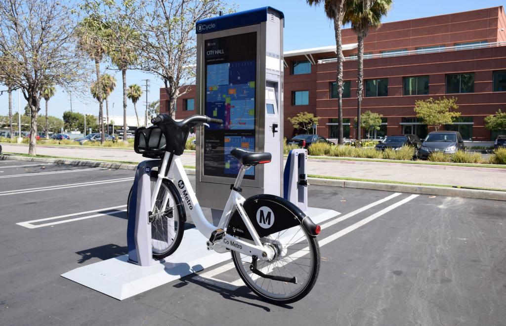 L.A. bike share